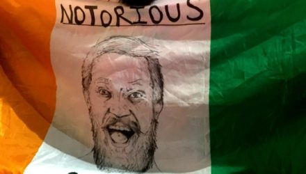 Conor McGregor - Notorious Irish Flag