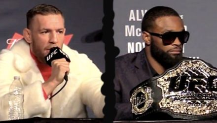Conor McGregor vs Tyron Woodley UFC 205 presser