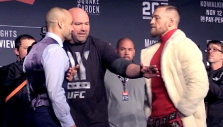 Eddie Alvarez vs Conor McGregor UFC 205 face-off