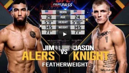 Jim Alers vs Jason Knight