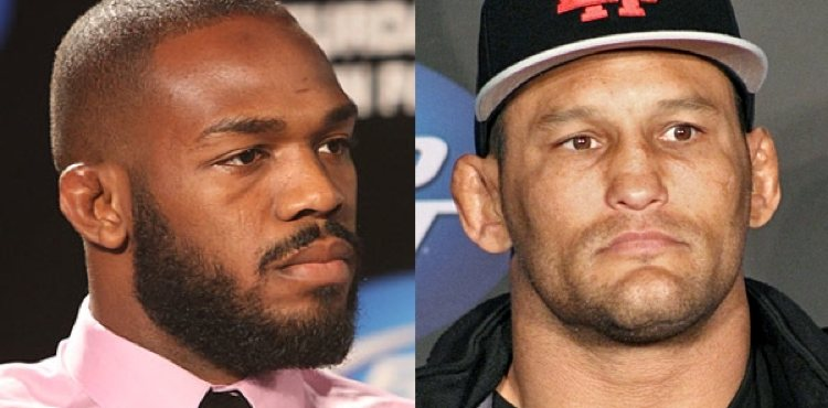 Jon Jones and Dan Henderson