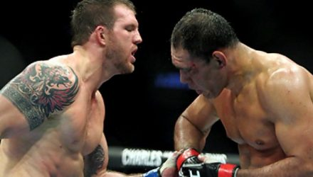 Ryan Bader vs Rogerio Nogueira at UFC 119
