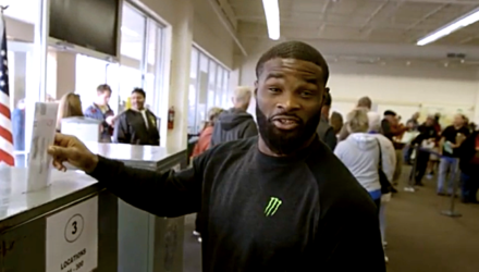 Tyron Woodley vote - UFC 205 Embedded