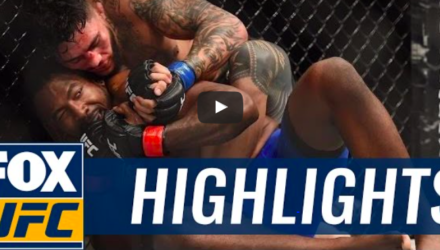 Tyson Pedro UFC Melbourne Fight Highlights