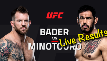 UFC Fight Night 100 Live Results