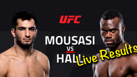 UFC Fight Night 99 Live Results