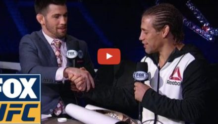 Cruz and Faber bury the hatchet - video