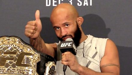 Demetrious Johnson TUF 24 Finale Post-Fight