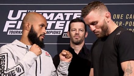 Demetrious Johnson vs Tim Elliott Media Faceoff