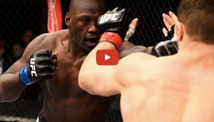 Ion Cutelaba vs Jared Cannonier fight highlights