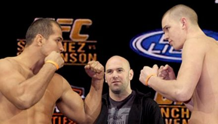 Junior dos Santos vs Stefan Struve UFC 95 weigh-in