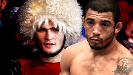 Khabib Nurmagomedov and Jose Aldo