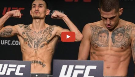 Max Holloway & Anthony Pettis weigh