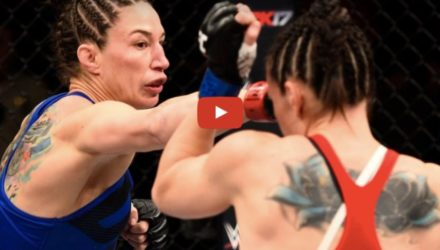 Sara McMann vs Alexis Davis fight highlights