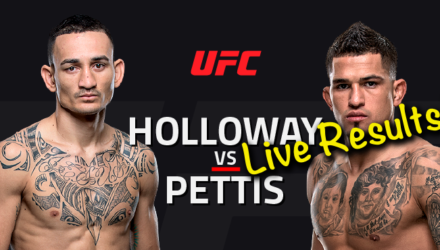 UFC 206: Holloway vs Pettis Live Results