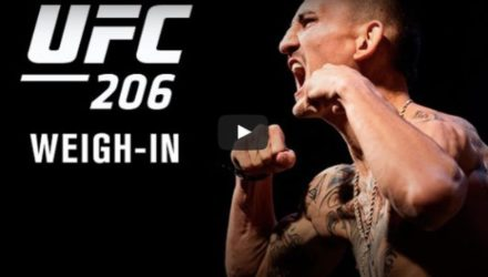 UFC 206 Weigh-in Video