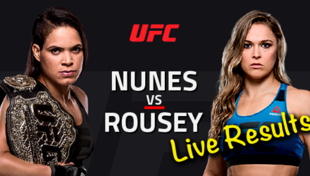 UFC 207 Nunes vs Rousey Live Results & Fight Stats