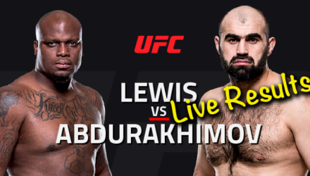 UFC Albany Live Results