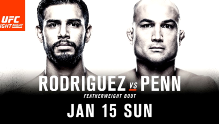 UFC Fight Night 103 Rodriguez vs Penn