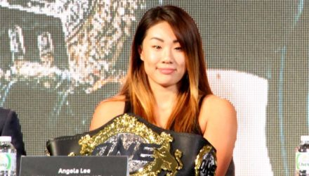 Angela Lee for MMAWeekly