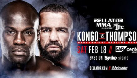 Bellator 172 Kongo vs Thompson