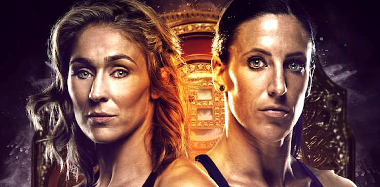 Bellator 174 Marloes Coenen vs Julia Budd Fight Poster