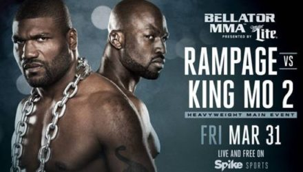 Bellator 175 Rampage vs King Mo 2 Fight Poster