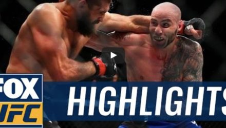 Ben Saunders vs Court McGee fight highlights