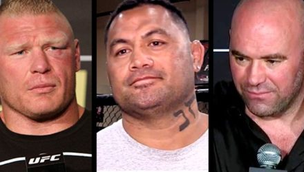 Brock Lesnar - Mark Hunt - Dana White