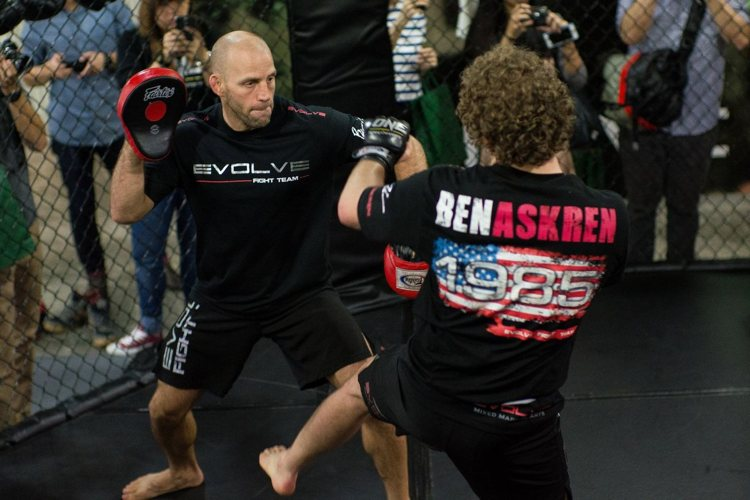 Heath SIms & Ben Askren - Evolve MMA