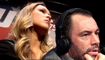 Joe Rogan broadcast on Ronda Rousey