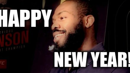 Jon Jones Happy New Year