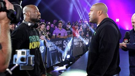 King Mo Lawal and Rampage Jackson Bellator 170 Announcement