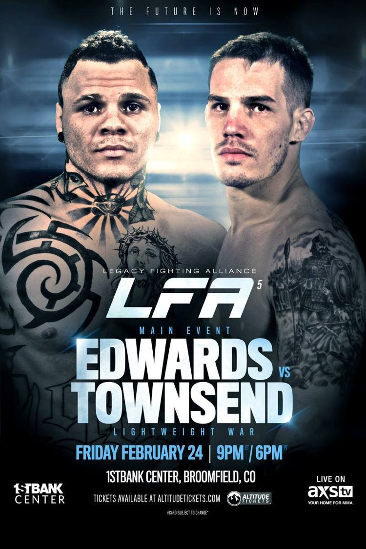 LFA 5 Edwards vs Townsend Fight Poster