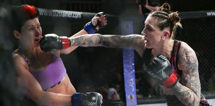 Megan Anderson vs Charmaine Tweet - Invicta FC 21