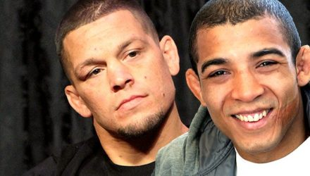 Nate Diaz and Jose Aldo