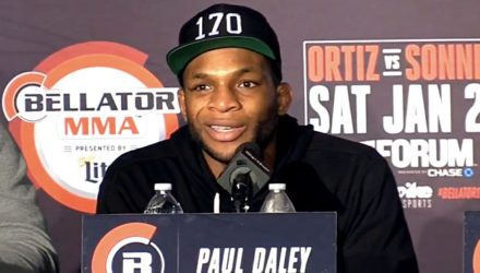 Paul Daley Bellator 170 Post-Fight Press Conference