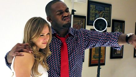Ronda Rousey and Jon Jones
