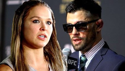 Ronda Rousey and Dominick Cruz