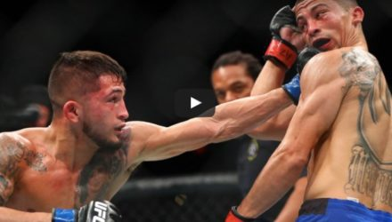 Sergio Pettis vs John Moraga Fight Highlights
