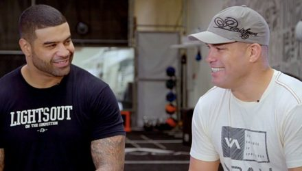 Shawne Merriman and Tito Ortiz
