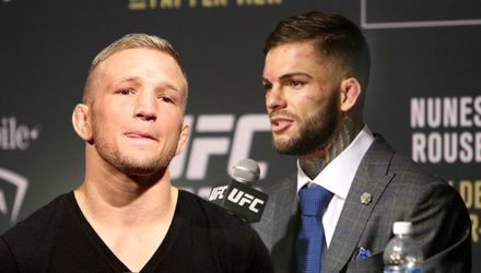 TJ Dillashaw and Cody Garbrandt