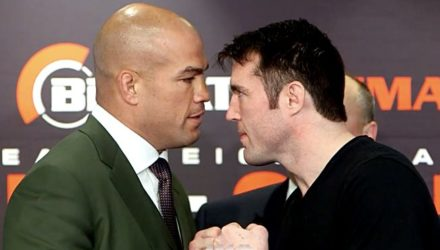 Tito Ortiz vs Chael Sonnen Bellator 170 face-off