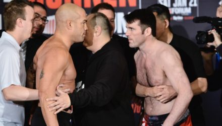 Tito Ortiz vs Chael Sonnen Bellator 170 weigh-ins official