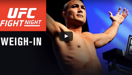 UFC Phoenix BJ Penn weigh-in video