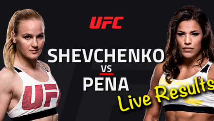 UFC on FOX 23 Shevchenko vs Pena Live Results