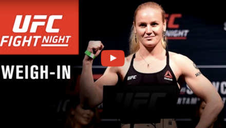 UFC on FOX 23 weigh-in video button