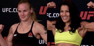 Valentina Shevchenko vs Julianna Pena weigh-in