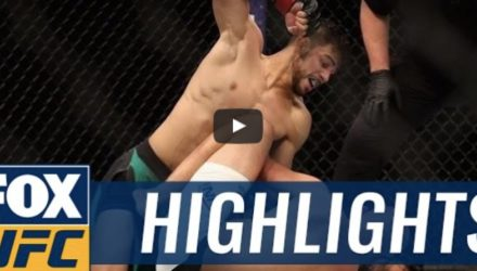 Yair Rodriguez vs BJ Penn fight highlights