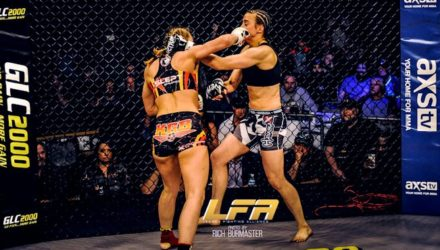 Andrea Lee LFA 4 Highlights